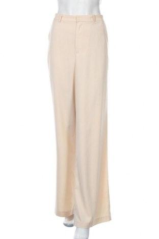 Γυναικείο παντελόνι By Malina, Μέγεθος L, Χρώμα  Μπέζ, 100% πολυεστέρας, Τιμή 12,00€
