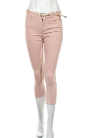 Дамски панталон Camaieu, Размер M, Цвят Розов, 98% памук, 2% еластан, Цена 6,08лв.