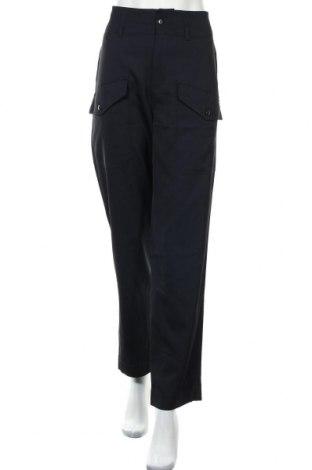 Дамски панталон Closed, Размер L, Цвят Син, 79% вискоза, 19% вълна, 2% еластан, Цена 23,40лв.