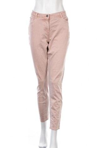 Γυναικείο παντελόνι Gina Laura, Μέγεθος M, Χρώμα Ρόζ , 64% βαμβάκι, 33% πολυεστέρας, 3% ελαστάνη, Τιμή 17,54€