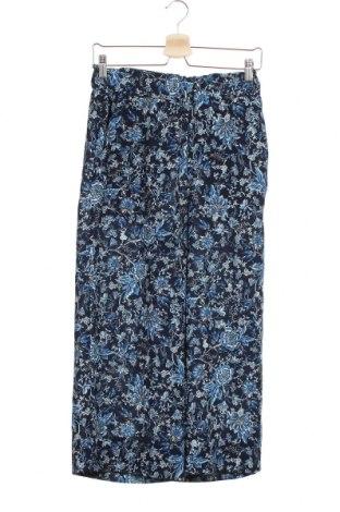 Дамски панталон H&M, Размер XS, Цвят Син, Полиестер, Цена 3,18лв.