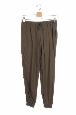 Γυναικείο παντελόνι H&M Divided, Μέγεθος XS, Χρώμα Πράσινο, Βισκόζη, Τιμή 13,58€