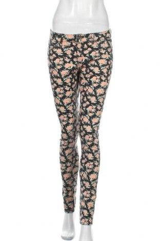 Γυναικείο παντελόνι H&M Divided, Μέγεθος M, Χρώμα Πολύχρωμο, 98% βαμβάκι, 2% ελαστάνη, Τιμή 13,58€