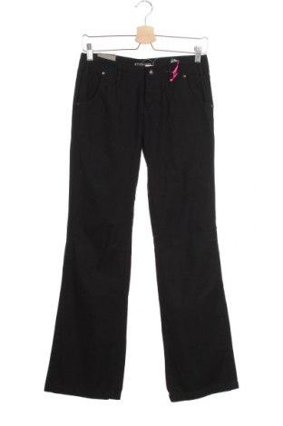 Дамски панталон Kenvelo, Размер XS, Цвят Черен, Памук, Цена 20,21лв.