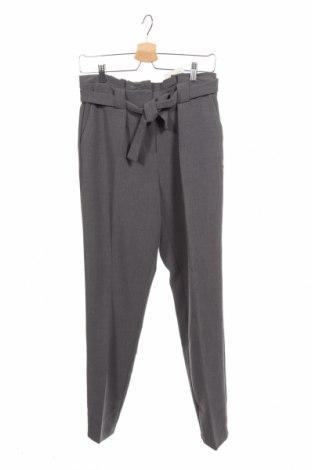 Дамски панталон Kiomi, Размер XS, Цвят Сив, 65% полиестер, 30% вискоза, 5% еластан, Цена 19,41лв.