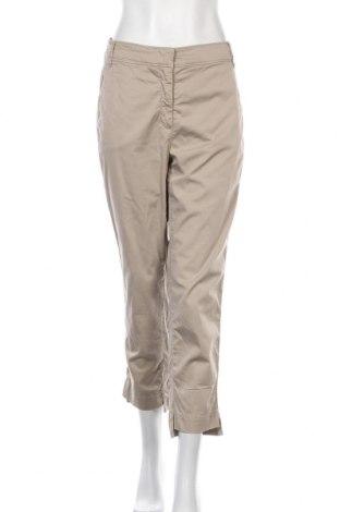 Дамски панталон Luisa Cerano, Размер L, Цвят Бежов, 97% памук, 3% еластан, Цена 13,52лв.