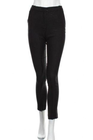 Γυναικείο παντελόνι Massimo Dutti, Μέγεθος XS, Χρώμα Μαύρο, 60% βισκόζη, 39% μαλλί, 1% ελαστάνη, Τιμή 18,40€
