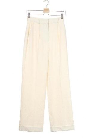 Γυναικείο παντελόνι Na-Kd, Μέγεθος XS, Χρώμα Εκρού, 65% πολυεστέρας, 30% βισκόζη, 5% ελαστάνη, Τιμή 16,74€