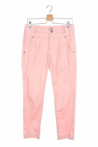 Дамски панталон ONLY, Размер XS, Цвят Розов, Памук, Цена 3,00лв.