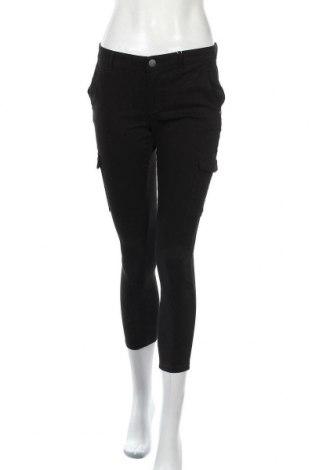 Дамски панталон ONLY, Размер S, Цвят Черен, 56% памук, 39% полиестер, 5% еластан, Цена 15,54лв.