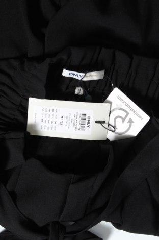 Дамски панталон ONLY, Размер M, Цвят Черен, Полиестер, Цена 17,78лв.