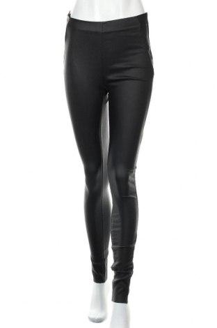 Дамски панталон Object, Размер M, Цвят Черен, 77% вискоза, 20% полиамид, 3% еластан, Цена 51,75лв.