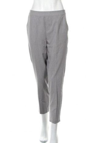 Дамски панталон Object, Размер M, Цвят Сив, 62% полиестер, 33% вискоза, 5% еластан, Цена 35,28лв.