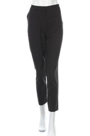 Γυναικείο παντελόνι Pieces, Μέγεθος L, Χρώμα Μαύρο, 79% πολυεστέρας, 16% βισκόζη, 5% ελαστάνη, Τιμή 22,81€