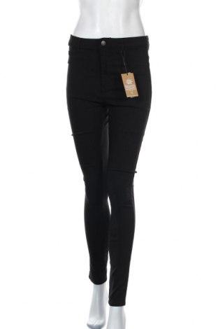 Γυναικείο παντελόνι Pieces, Μέγεθος XL, Χρώμα Μαύρο, 77% βισκόζη, 20% πολυαμίδη, 3% ελαστάνη, Τιμή 26,68€