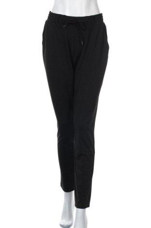 Дамски панталон Q/S by S.Oliver, Размер L, Цвят Черен, 78% полиестер, 18% вискоза, 4% еластан, Цена 57,00лв.