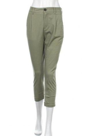 Дамски панталон Review, Размер S, Цвят Зелен, Цена 14,98лв.