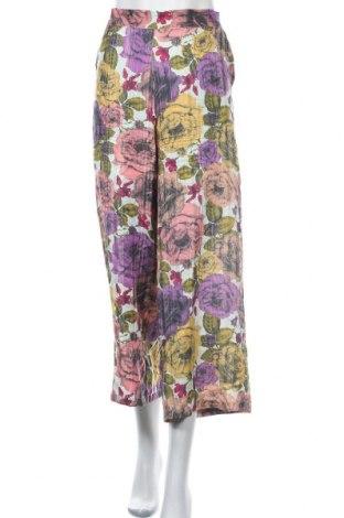 Дамски панталон Stella Nova, Размер M, Цвят Многоцветен, 54% коприна, 46% вискоза, Цена 27,60лв.