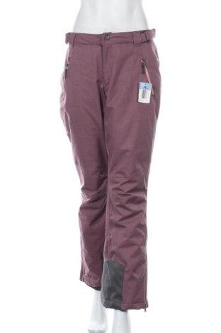 Дамски панталон за зимни спортове Crane, Размер M, Цвят Розов, Полиестер, Цена 28,67лв.