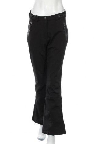 Дамски панталон за зимни спортове Crane, Размер M, Цвят Черен, 92% полиестер, 8% еластан, Цена 30,87лв.