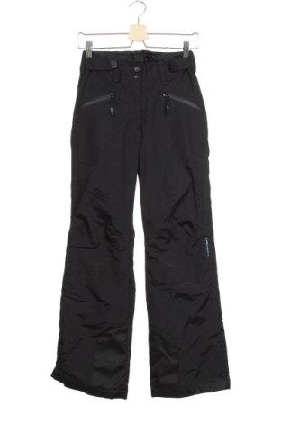 Дамски панталон за зимни спортове H&M Sport, Размер XS, Цвят Черен, Полиамид, Цена 38,22лв.
