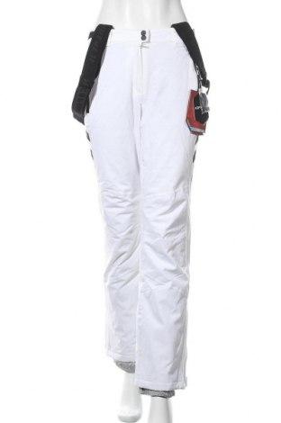Дамски панталон за зимни спортове Icepeak, Размер S, Цвят Бял, Полиестер, Цена 47,04лв.