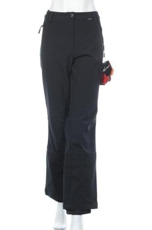 Дамски панталон за зимни спортове Icepeak, Размер L, Цвят Черен, 94% полиестер, 6% еластан, Цена 50,12лв.