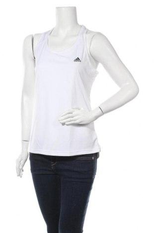 Дамски потник Adidas, Размер M, Цвят Бял, Полиестер, Цена 29,50лв.