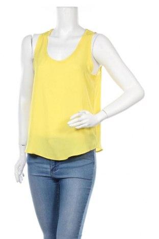 Γυναικείο αμάνικο μπλουζάκι Banana Republic, Μέγεθος S, Χρώμα Κίτρινο, Πολυεστέρας, Τιμή 7,24€