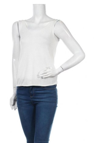 Γυναικείο αμάνικο μπλουζάκι Cream, Μέγεθος XS, Χρώμα Λευκό, 85% βισκόζη, 15% πολυαμίδη, Τιμή 22,81€