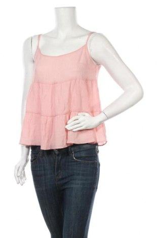 Γυναικείο αμάνικο μπλουζάκι H&M Divided, Μέγεθος S, Χρώμα Ρόζ , 81% βισκόζη, 19% πολυαμίδη, Τιμή 11,11€