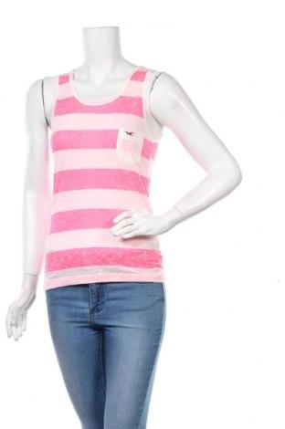 Γυναικείο αμάνικο μπλουζάκι Hollister, Μέγεθος M, Χρώμα Ρόζ , Τιμή 8,81€