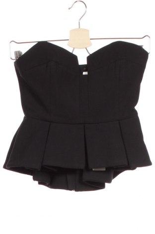 Γυναικείο αμάνικο μπλουζάκι Keepsake, Μέγεθος XS, Χρώμα Μαύρο, 97% πολυεστέρας, 3% ελαστάνη, Τιμή 43,84€