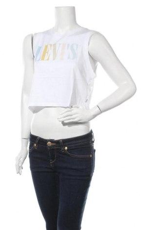 Γυναικείο αμάνικο μπλουζάκι Levi's, Μέγεθος S, Χρώμα Λευκό, Βαμβάκι, Τιμή 18,95€