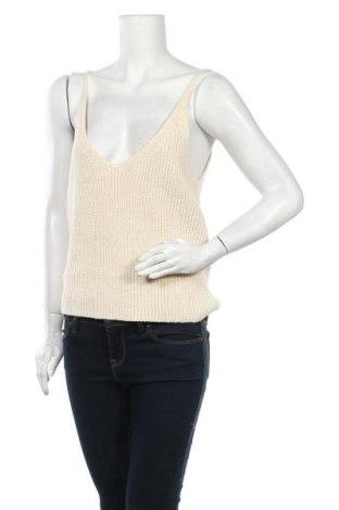 Γυναικείο αμάνικο μπλουζάκι Norr, Μέγεθος XL, Χρώμα Εκρού, 90% βαμβάκι, 10% πολυαμίδη, Τιμή 22,81€