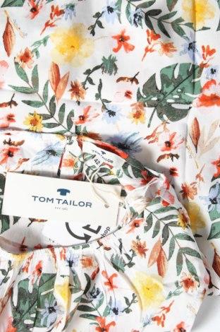 Γυναικείο αμάνικο μπλουζάκι Tom Tailor, Μέγεθος L, Χρώμα Πολύχρωμο, Βισκόζη, Τιμή 15,08€
