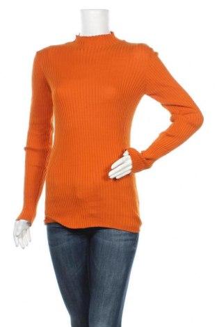 Дамски пуловер Armedangels, Размер XL, Цвят Оранжев, Памук, Цена 17,36лв.
