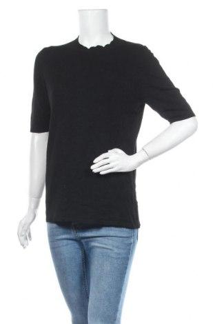 Γυναικείο πουλόβερ Comma,, Μέγεθος L, Χρώμα Μαύρο, 81% βισκόζη, 17% πολυαμίδη, 2% ελαστάνη, Τιμή 46,01€