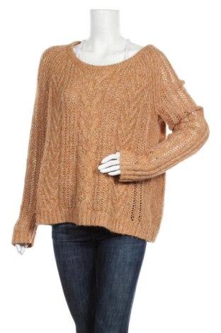 Дамски пуловер Esprit, Размер L, Цвят Бежов, 80% акрил, 10% вълна от алпака, 10% вискоза, Цена 9,85лв.