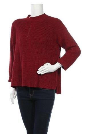Дамски пуловер Esprit, Размер XL, Цвят Червен, Цена 11,31лв.
