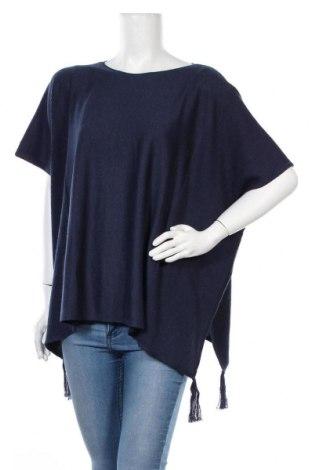 Дамски пуловер Esprit, Размер S, Цвят Син, 65% полиестер, 35% вискоза, Цена 9,09лв.