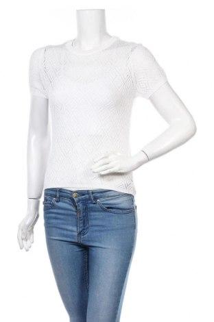 Γυναικείο πουλόβερ H&M Divided, Μέγεθος M, Χρώμα Λευκό, 50%ακρυλικό, 50% βισκόζη, Τιμή 15,31€