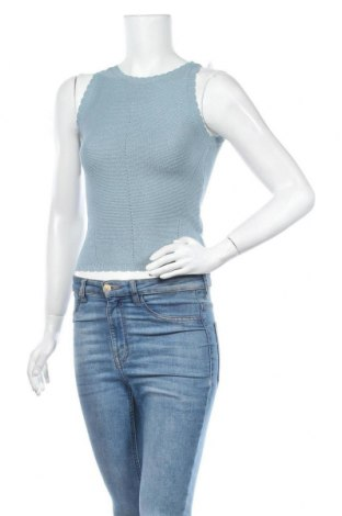 Γυναικείο πουλόβερ Review, Μέγεθος S, Χρώμα Μπλέ, 78% βισκόζη, 22% πολυαμίδη, Τιμή 20,10€