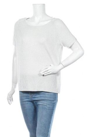 Γυναικείο πουλόβερ S.Oliver, Μέγεθος M, Χρώμα Γκρί, 60% βισκόζη, 25% μεταλλικά νήματα, 15% πολυεστέρας, Τιμή 22,81€