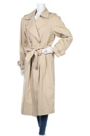 Дамски шлифер Object, Размер M, Цвят Бежов, Памук, Цена 45,44лв.