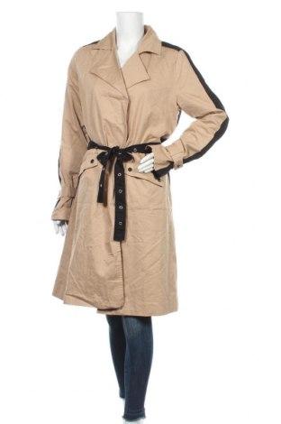 Дамски шлифер Object, Размер M, Цвят Бежов, Памук, Цена 106,50лв.