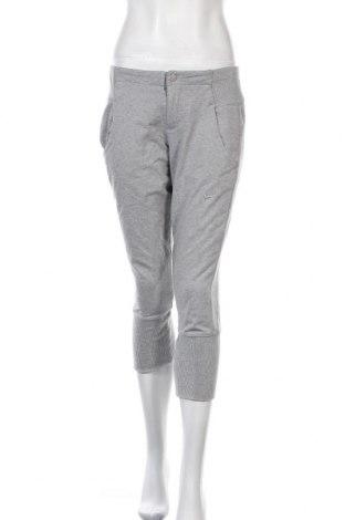 Γυναικείο αθλητικό παντελόνι Nike, Μέγεθος S, Χρώμα Γκρί, Βαμβάκι, Τιμή 22,27€