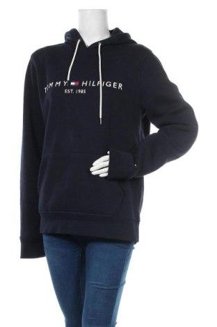 Γυναικείο φούτερ Tommy Hilfiger, Μέγεθος L, Χρώμα Μπλέ, 64% βαμβάκι, 36% πολυεστέρας, Τιμή 44,78€