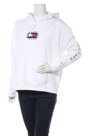 Γυναικείο φούτερ Tommy Hilfiger, Μέγεθος L, Χρώμα Λευκό, 50% βαμβάκι, 50% πολυεστέρας, Τιμή 48,54€