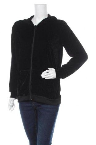 Дамски суичър Vrs Woman, Размер S, Цвят Черен, 98% полиестер, 2% еластан, Цена 11,34лв.